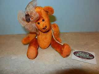 Ganz Cottage Collectibles Teddy Bear Spice Carol E. Kirby Mint MWT