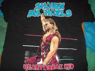 1996 year wwf wwe shawn michaels t shirt mint never worn size xl