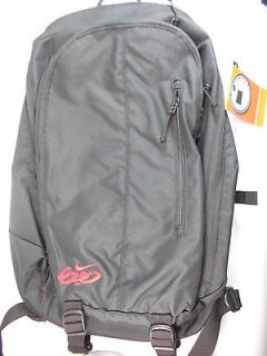 NIKE 6.0 BLACK/RED 17 LAPTOP BACKPACK SIZE M, NWT.#BA3274 006