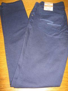 NWT $40 Arizona Junior Skinny Jeans 0 1 3 13 15 17 19 Khaki Blue Pink