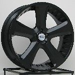 22 Inch ALL Black Wheels Rims Nissan Armada Titan QX56 Toyota Tundra 4