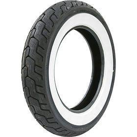 MT90B 16 Dunlop Harley Davidson D402 Wide White Wall Rear Tire 301991