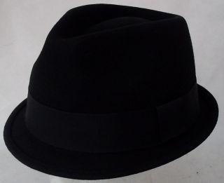 trilby hat retro jazz ska 2tone rudeboy mod stingy brim