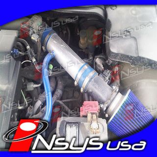 nissan maxima se sl 3 5 3 5l v6 air intake induction blue fits nissan