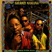 One for All by Brand Nubian CD, Dec 1990, Elektra Label
