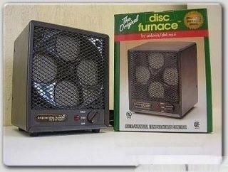 disc ceramic fan forced air heater auto temp pelonis