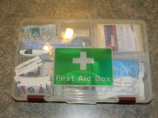 travel first aid kit fully stocked from canada returns not
