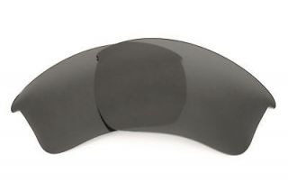 Stealth Black Replacement Lenses for Oakley Half Jacket 2.0 XL
