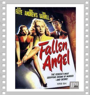 Fallen Angel (1945) DVD*NEW*Alice Faye,Otto Preminger