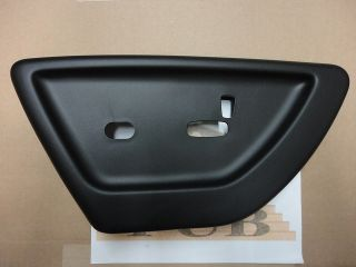 Chevrolet Trailblazer Drivers black Power Seat switch COVER new OEM