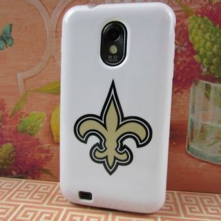New Orleans Saints Rubber Skin Case Cover Samsung Galaxy S II S2 Epic