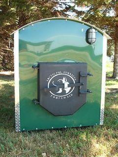 arctic fox outdoor wood coal furnace go lden series wood