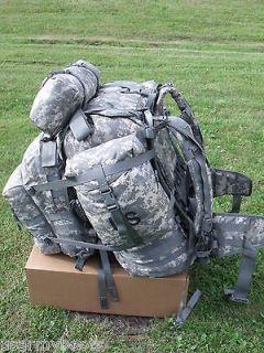 US ARMY MOLLE II SDS ACU RUCKSACK digital ASSAULT 3D BACK PACK, USGI
