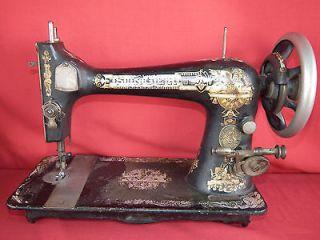 Antique 1899 SINGER SPHYNX Treadle Sewing Machine Head Memphis