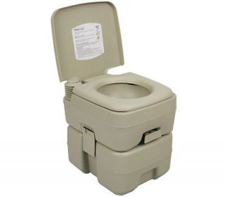 PALM SPRINGS OUTDOOR 2.5 GALLON PORTABLE CAMPING FLUSH TOILET TRAVEL