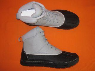 nike woodside boots new mens 386469 090 matte silver