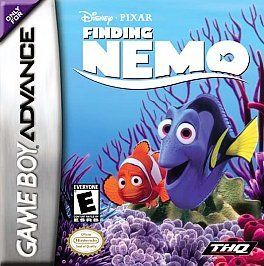 finding nemo game boy advance game w booklet and poster