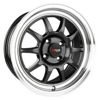 15 4x100 dr16 gm wheels rims nissan sentra 200sx maxima