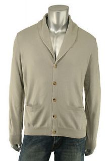 Ralph Lauren Black Label Gray Cashmere Cardigan Sweater New $795