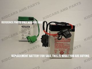 peg perego thomas the train replacement 6 volt battery w