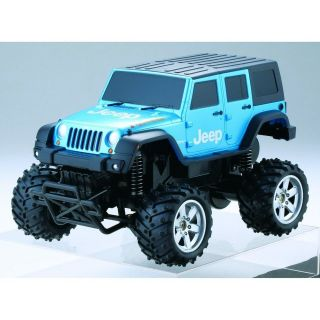 NEW CCP Radio Control Car R/C G DRIVE Jeep Wrangler blue Japan EMS