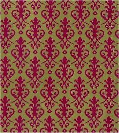 dolls house red on gold victorian wallpaper a3 time left