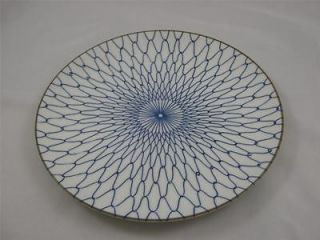 Takahashi San Francisco Blue on White Design Decorative Plate   Wild!!