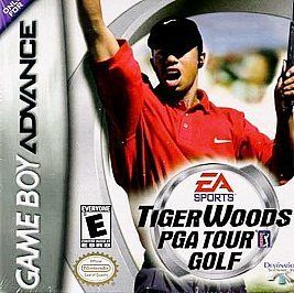 tiger woods pga tour golf nintendo game boy advance 2002