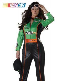 Adult Womens Danica Patrick Nascar Racecar Driver Halloween Costume