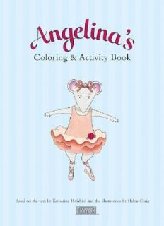 Angelinas Coloring and Activity Book 2002, Hardcover
