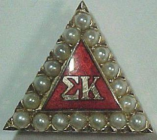 member pin  150 00  kappa sigma genuine opal ruby