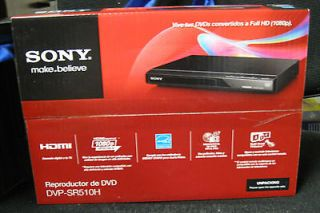 NEW Sony DVP SR510H 60 Hz Power Frequency 1080p Upscaling DVD Player