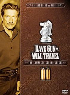 Have Gun Will Travel   The Complete Second Season DVD, 2005, 6 Disc