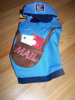 Size XS X Small 5 10 lbs Old Navy Mailman Mail Man Carrier Pet Dog