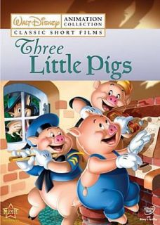 Disney Animation Collection Vol. 2 Three Little Pigs (DVD, 2009)