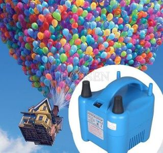 680W Two Nozzle Balloon Inflator Electric Balloon Pump Portable Blower