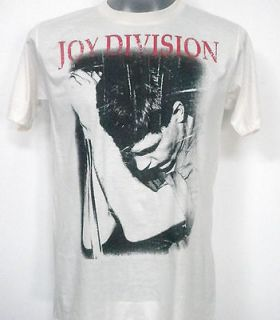 joy division rock t shirt white size medium