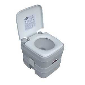 Century Portable Toilet Camping Hiking Fishing RV Outdoor Living Potty