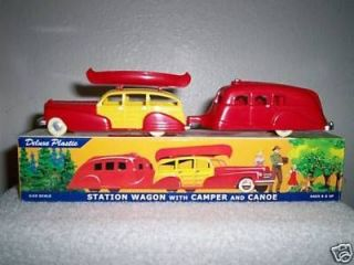1940S DIMESTORE DREAMS FOR TRAIN,GAS, SERVICE STATION PLAYSET CAR