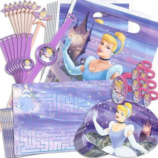 disney s princess cinderella birthday party supplies favor pack 48