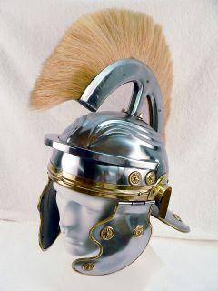 Newly listed Roman Centurion Helmet with Plume 18 gauge steel