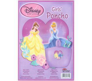 disney princess cinderella belle wind rain poncho onesz