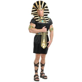 King Tut Adult Mens Egyptian Pharaoh Sphinx Halloween Costume