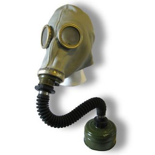 russian army soviet gas mask hose filter war gasmask time