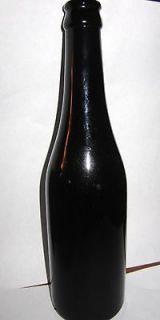 Vintage Black Glass Old Soda Bottle MISSION ORANGE DRY SODA