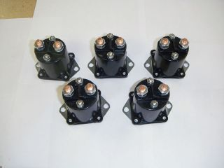 Club Car Golf Cart Part 36 Volt Solenoid 8016 NEW 5 Solenoids