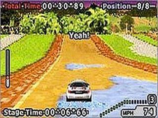 GT Advance 2 Rally Racing Nintendo Game Boy Advance, 2002