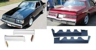 GRAND NATIONAL BUICK REGAL FRONT AND REAR BUMPER BODY FILLER FILLERS