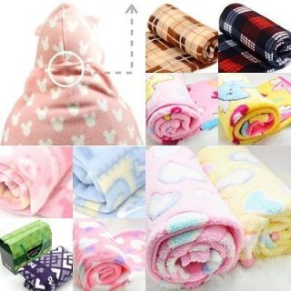 100 % polyester fleece throw various travel baby blanket more