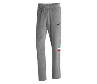 new puma ferrari men s lifestyle pants grey